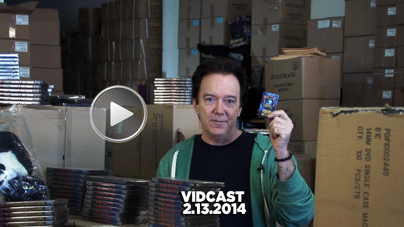 Charles Band Vidcast 2.13.14 - Valentines Day Sale, Trophy Heads, Full Moon Streaming