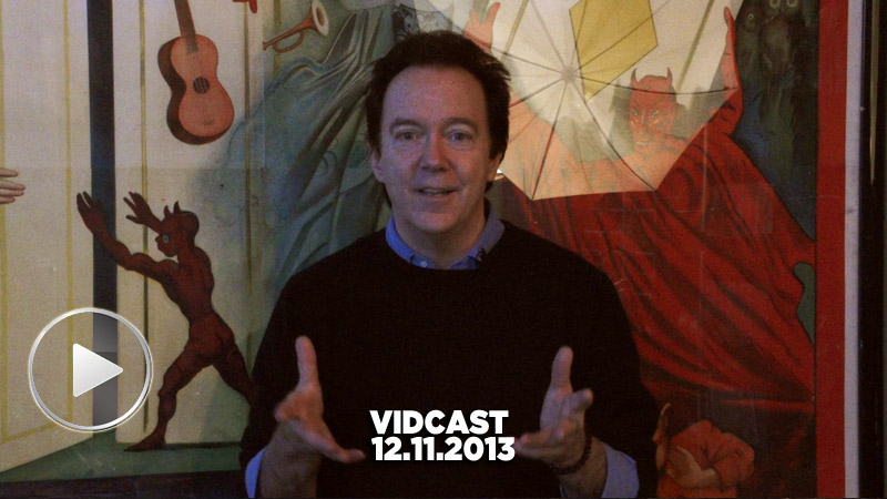 Charles Band Vidcast 12.11.13 - Wizard Studios and New Puppet Master Series