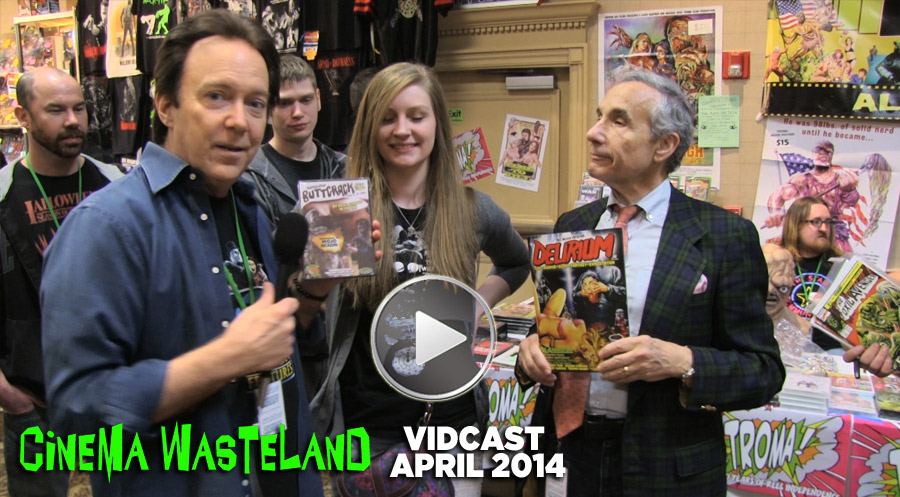 Vidcast 4.9.14: Cinema Wasteland with Lloyd Kaufman and Larry Cohen