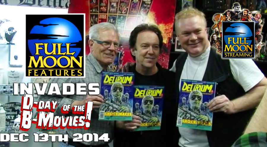 Charles Band Vidcast 12.13.14 - D-Day of the B-Movies 5