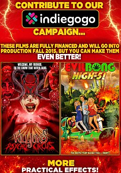 Vidcast 9/2/15: Indie GoGo Killjoy's Psycho Circus & Evil Bong High 5
